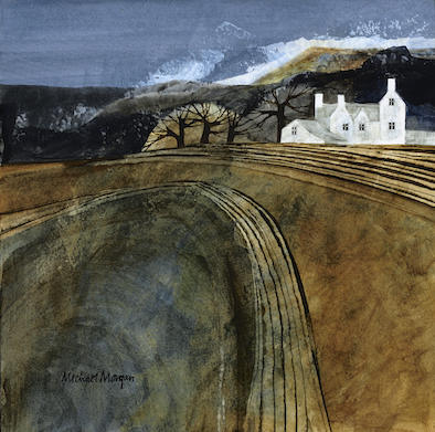 Autumn Ploughing, Michael Morgan