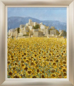 Late Sunflowers in September, Andalucia,