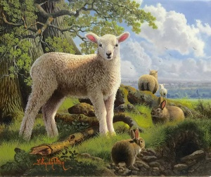 Spring Lamb and Friends,