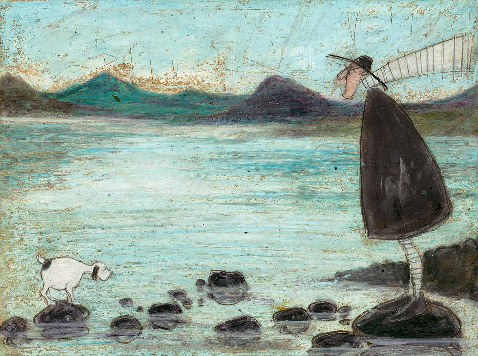 Coniston Stepping Stones, Sam Toft