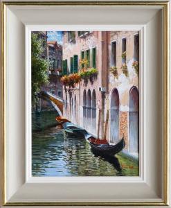 Gondolas, Venice I,