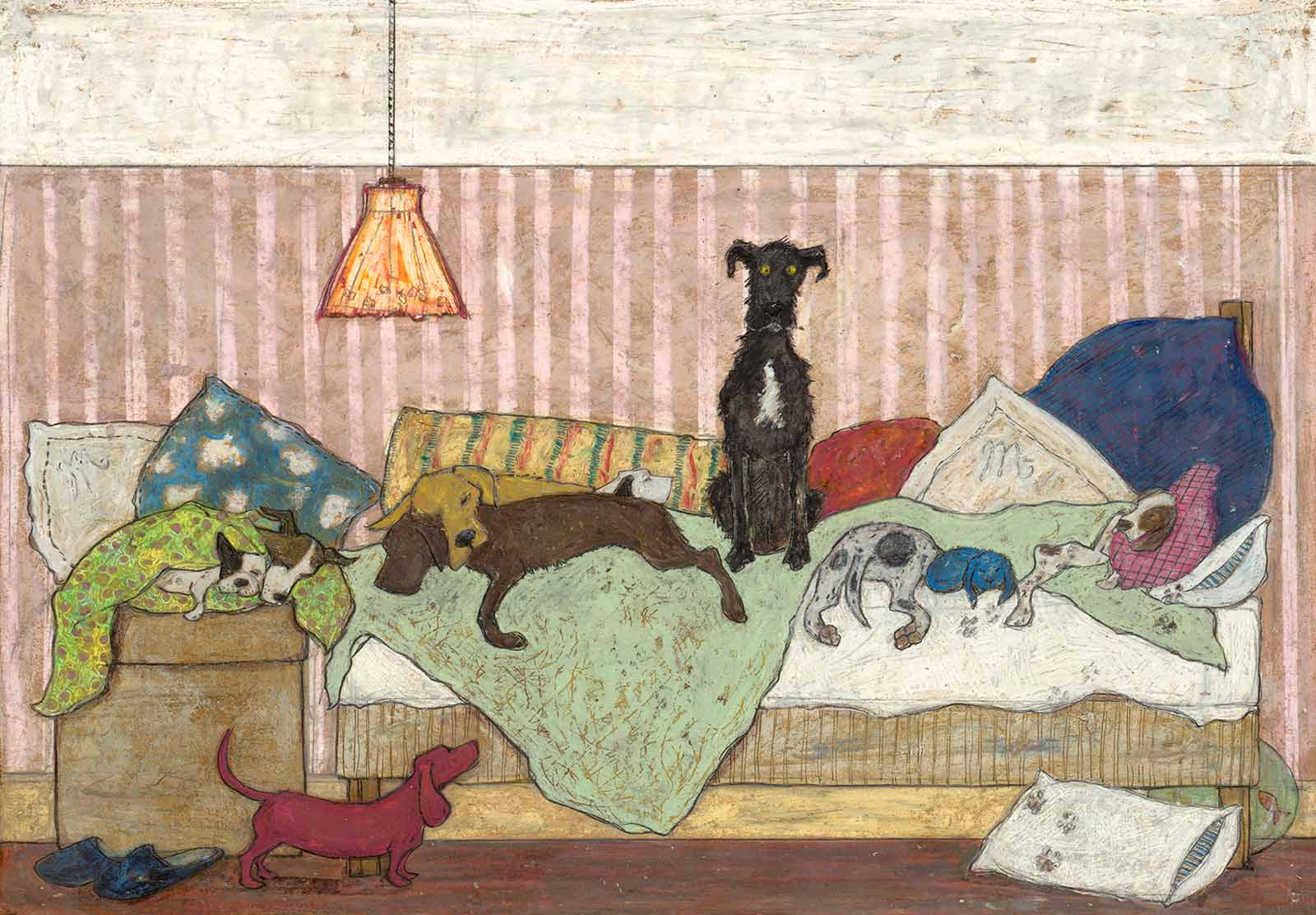 Big Dog Bed, Sam Toft