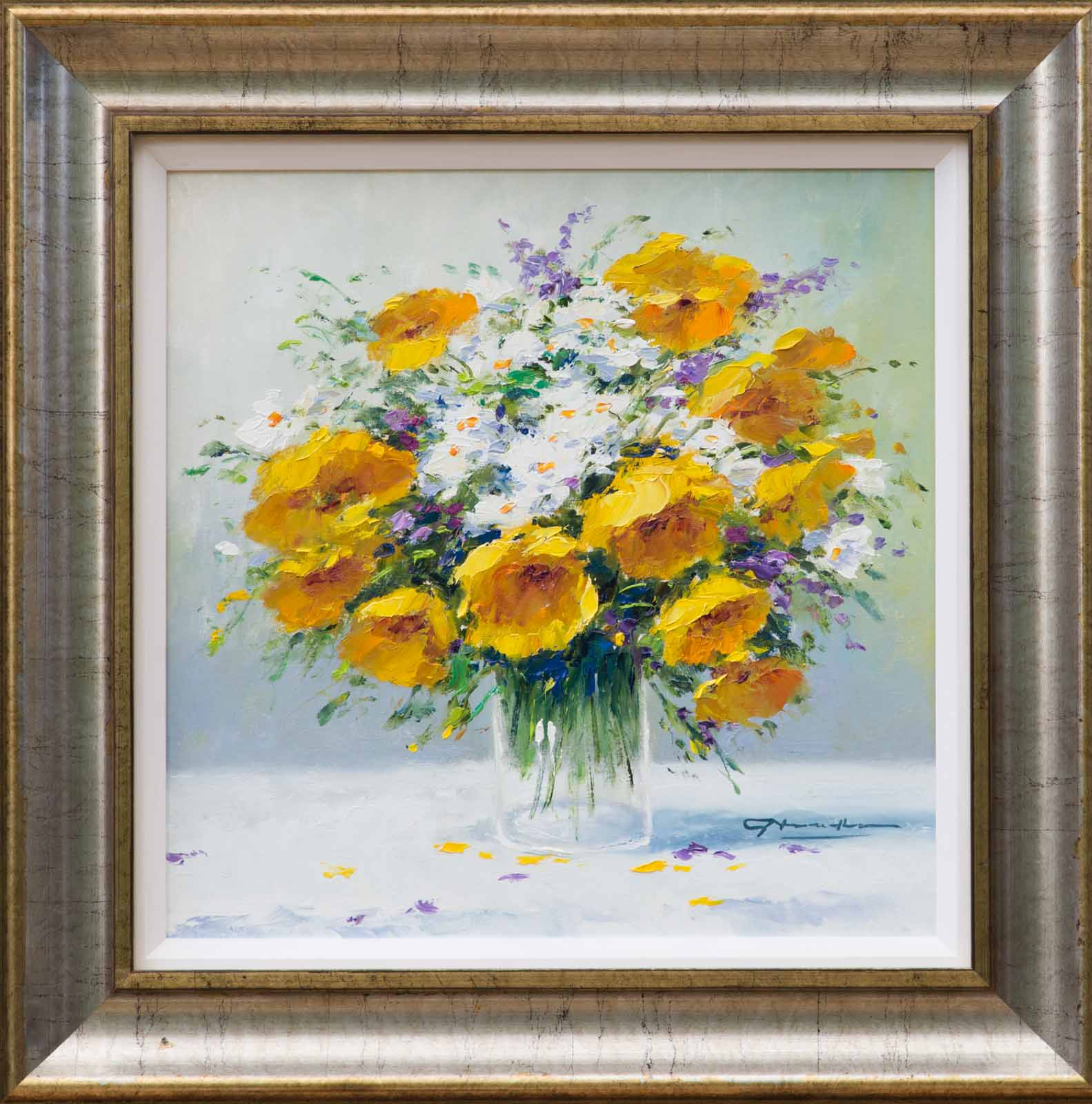 Bouquet of Yellows and Whites, Gerhard Nesvadba