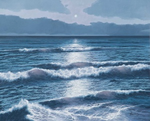 Moonlit Waves,
