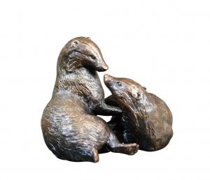 Pair of Badgers,