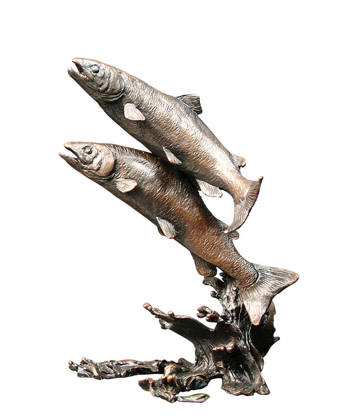 Salmon Pair, Keith Sherwin