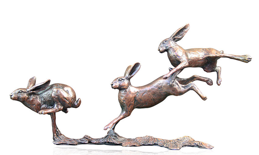 Small Hares Running, Michael Simpson
