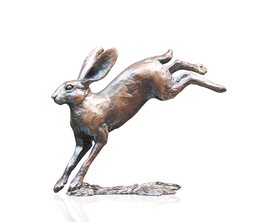 Small Hare Leaping