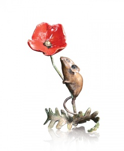 Mouse With Poppy,