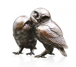 Pair of Little Owls,