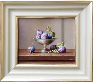 Purple Pershore Plums,