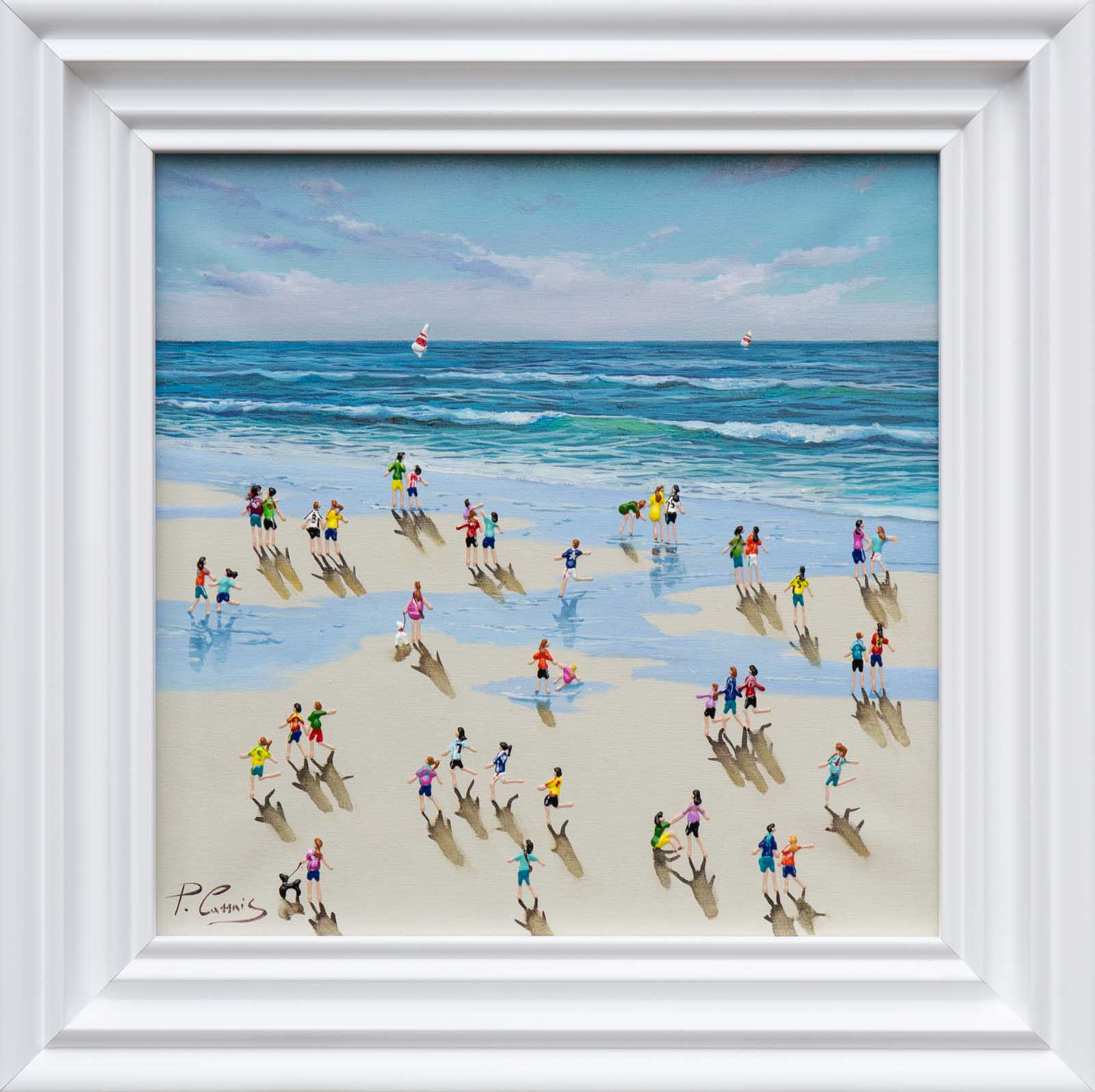 Playtime On The Beach, Paola Cassais