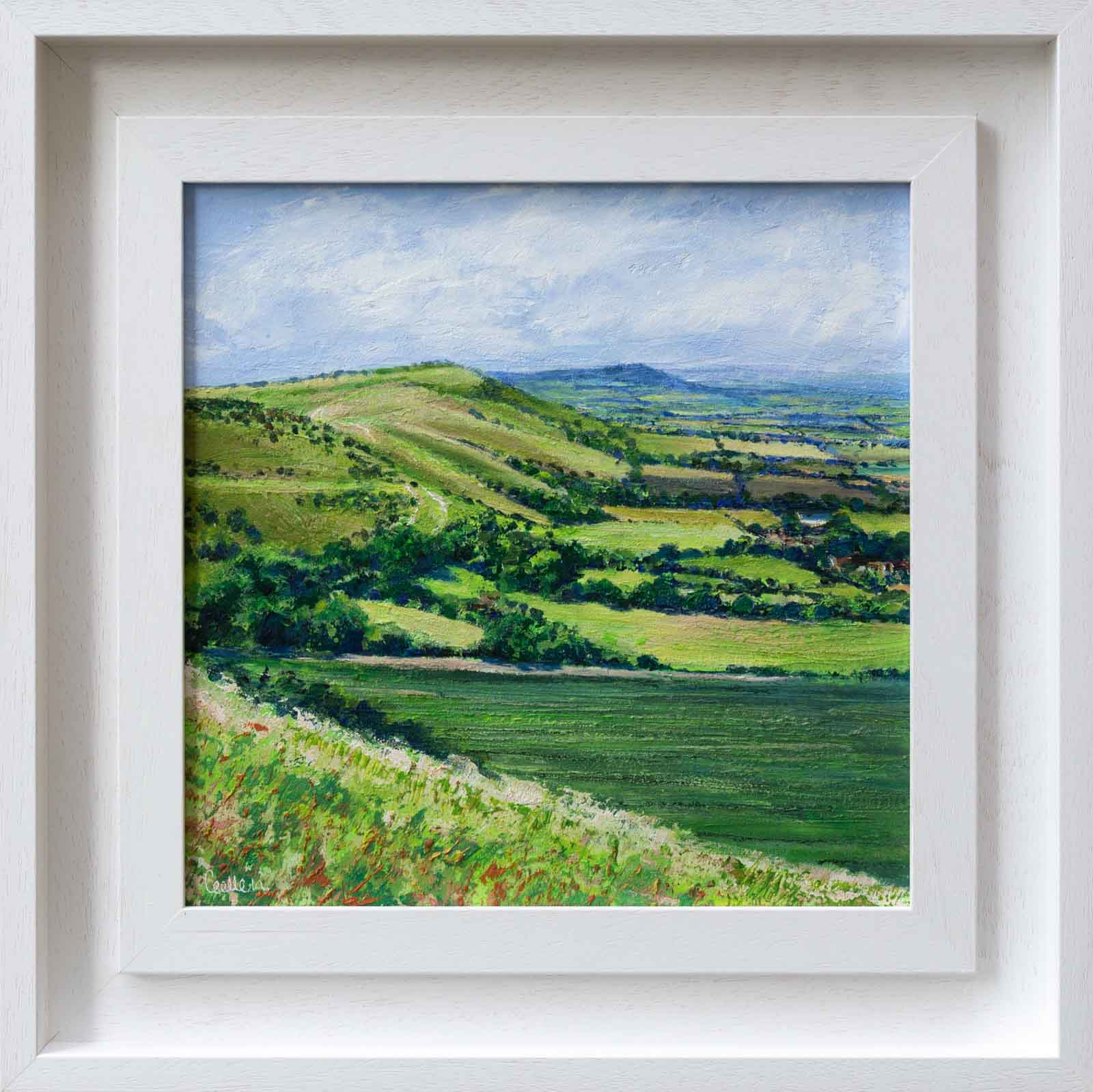 Summer Across Devil's Dyke, Grace Ellen