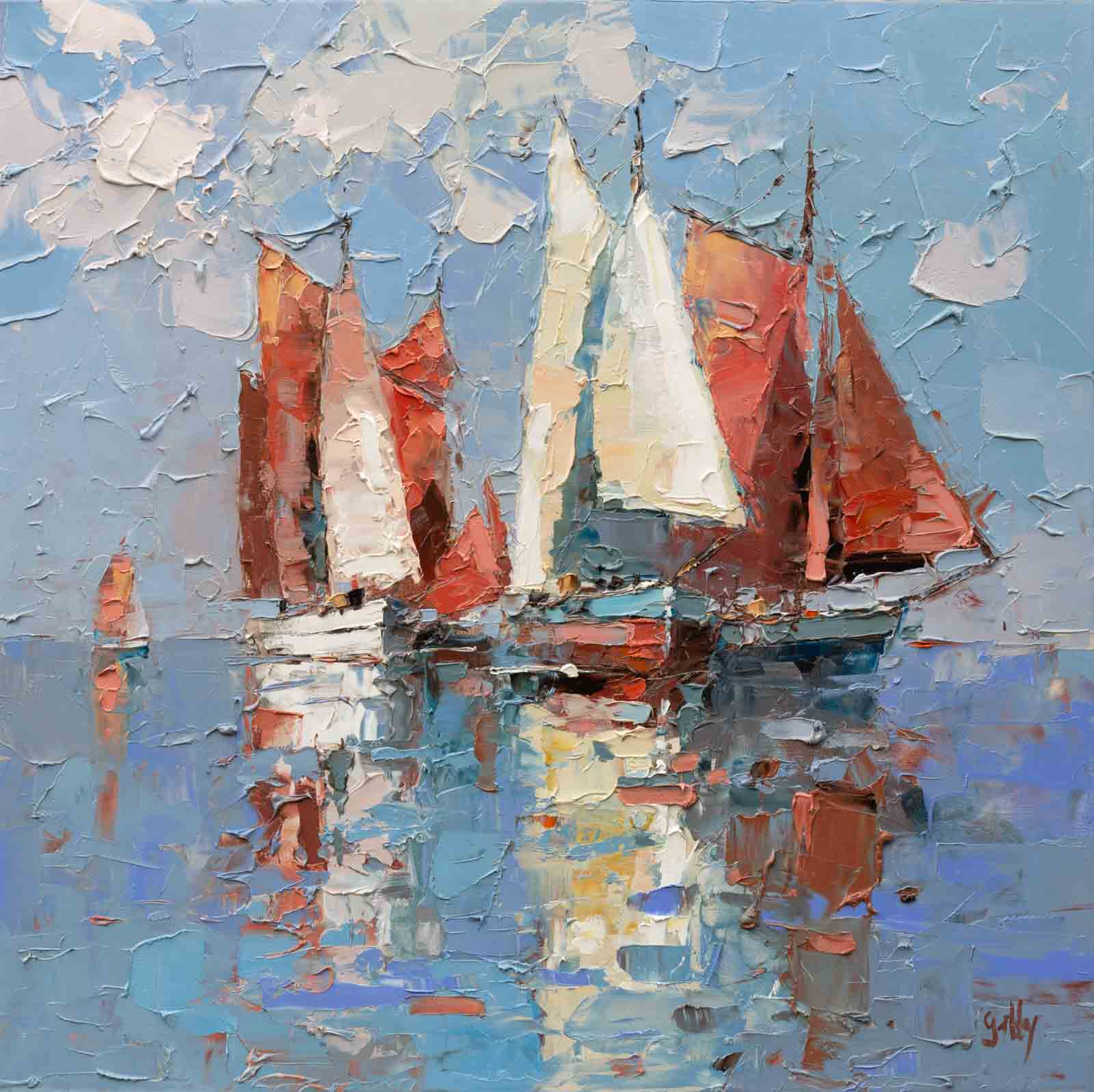 Setting Sail, Frank Getty