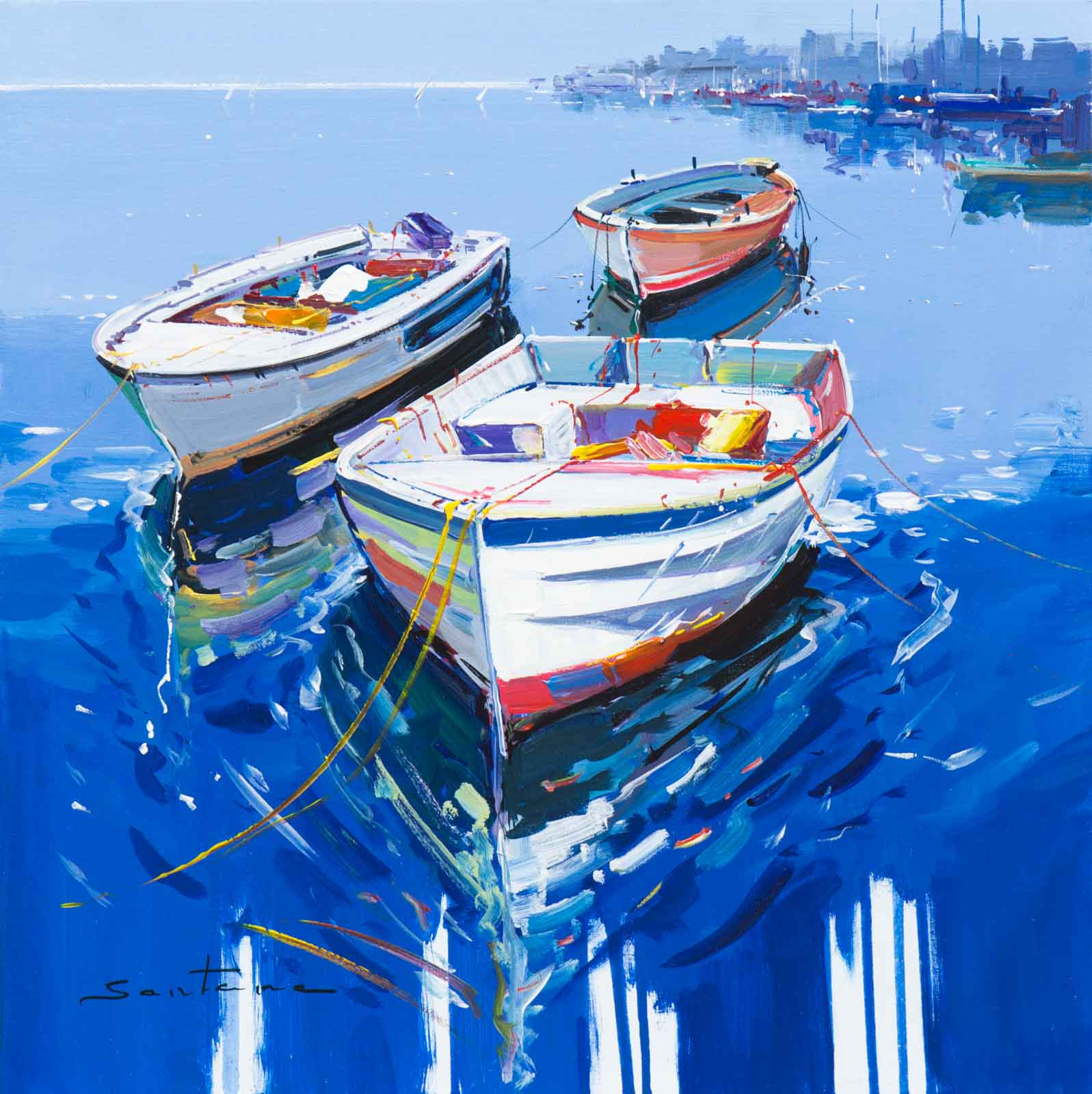 The Marina, Francisco Santana
