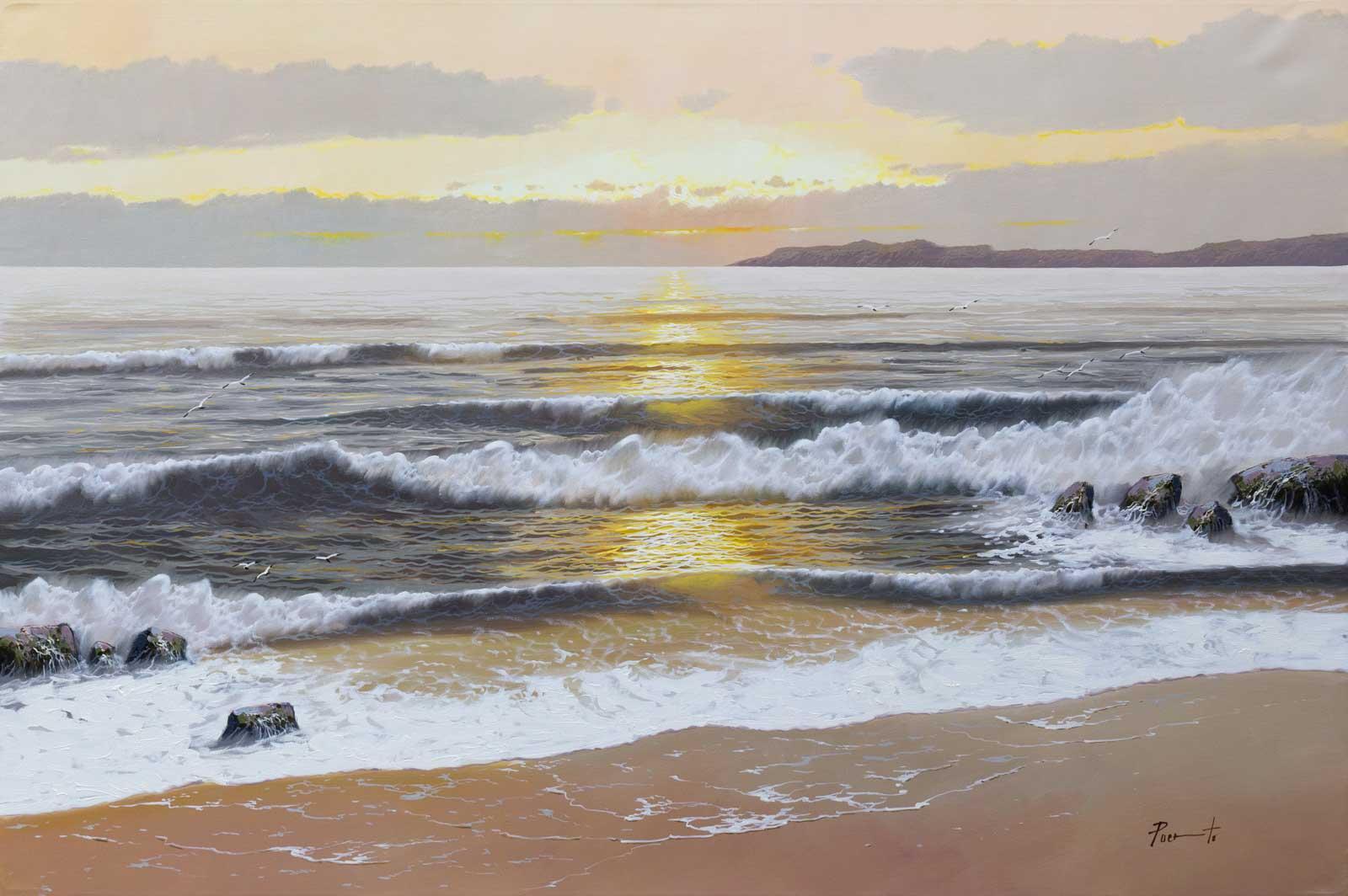 Sundown on a Perfect Day, Joan Puerto