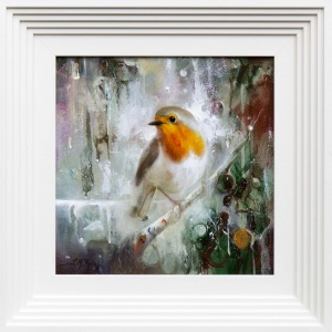 Robin Perching,