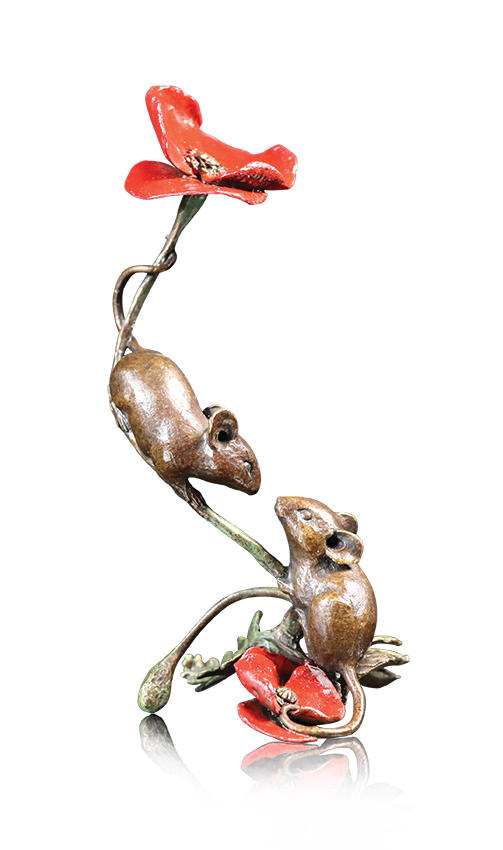 Two Mice With Poppy