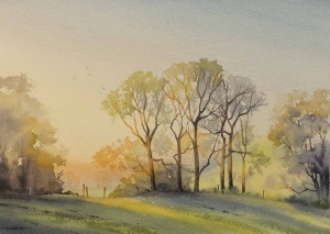 Last Light and Lime Trees,