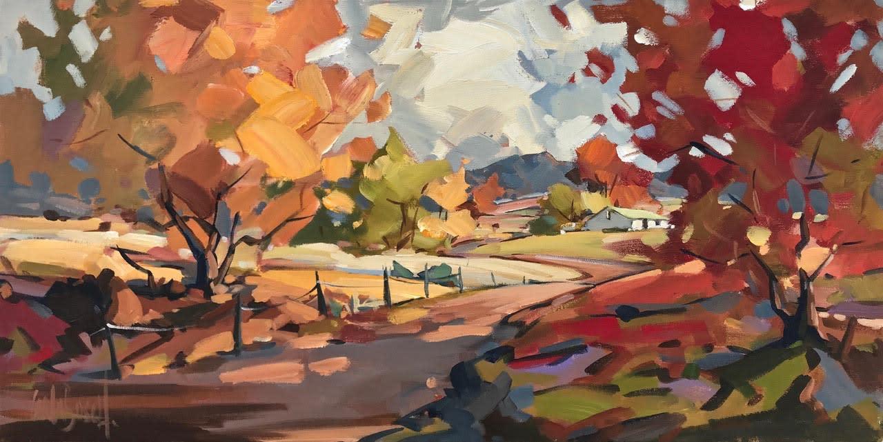 Autumn Road, Carla Bosch
