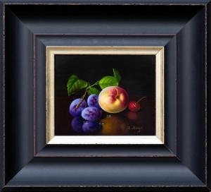 Plum, Peach & Cherry,