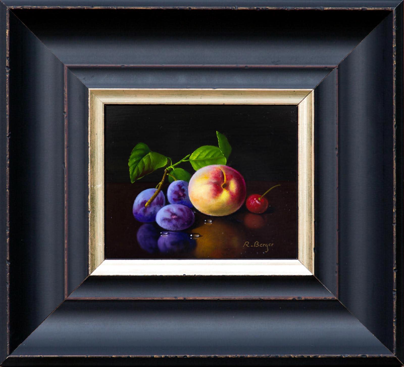 Plum, Peach & Cherry, Ronald Berger