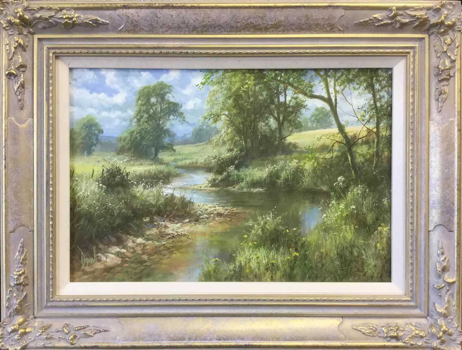 The Stream in Summer, David Dipnall