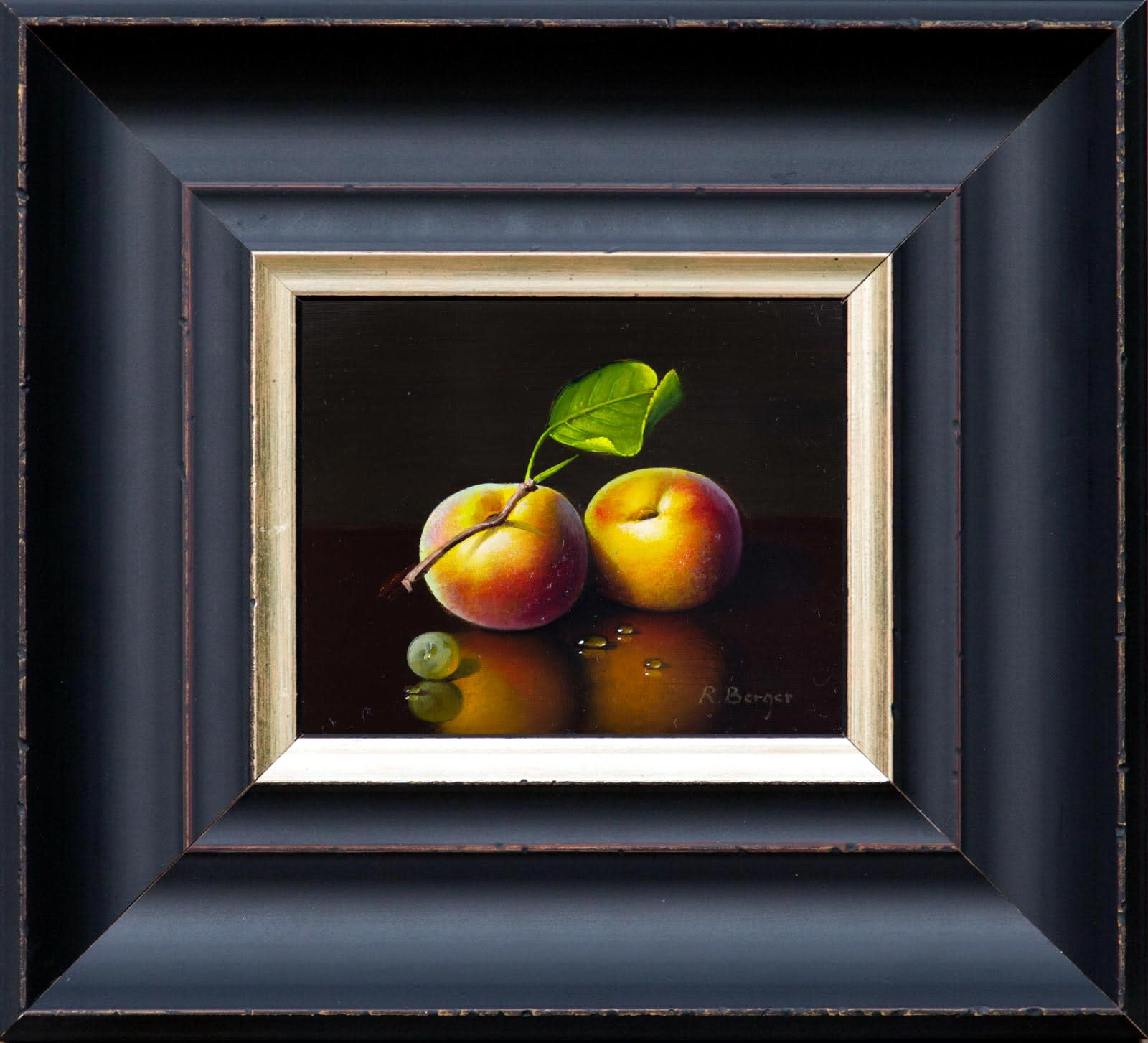 Two Peaches, Ronald Berger