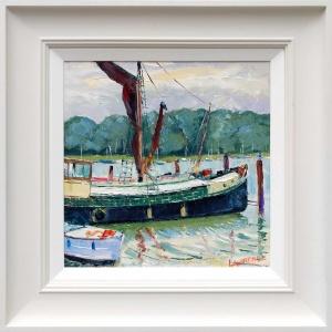 Sailing Barge, Suffolk,