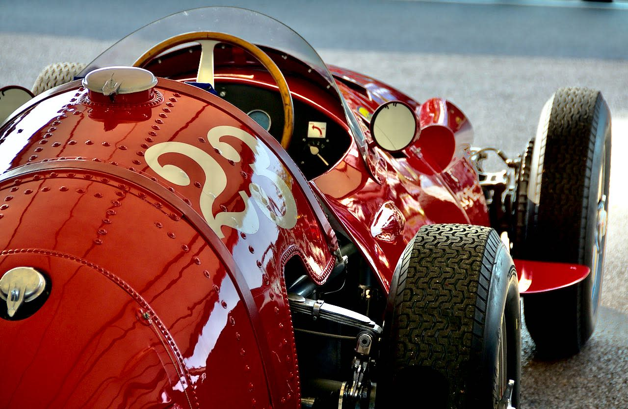 The Red Race Car