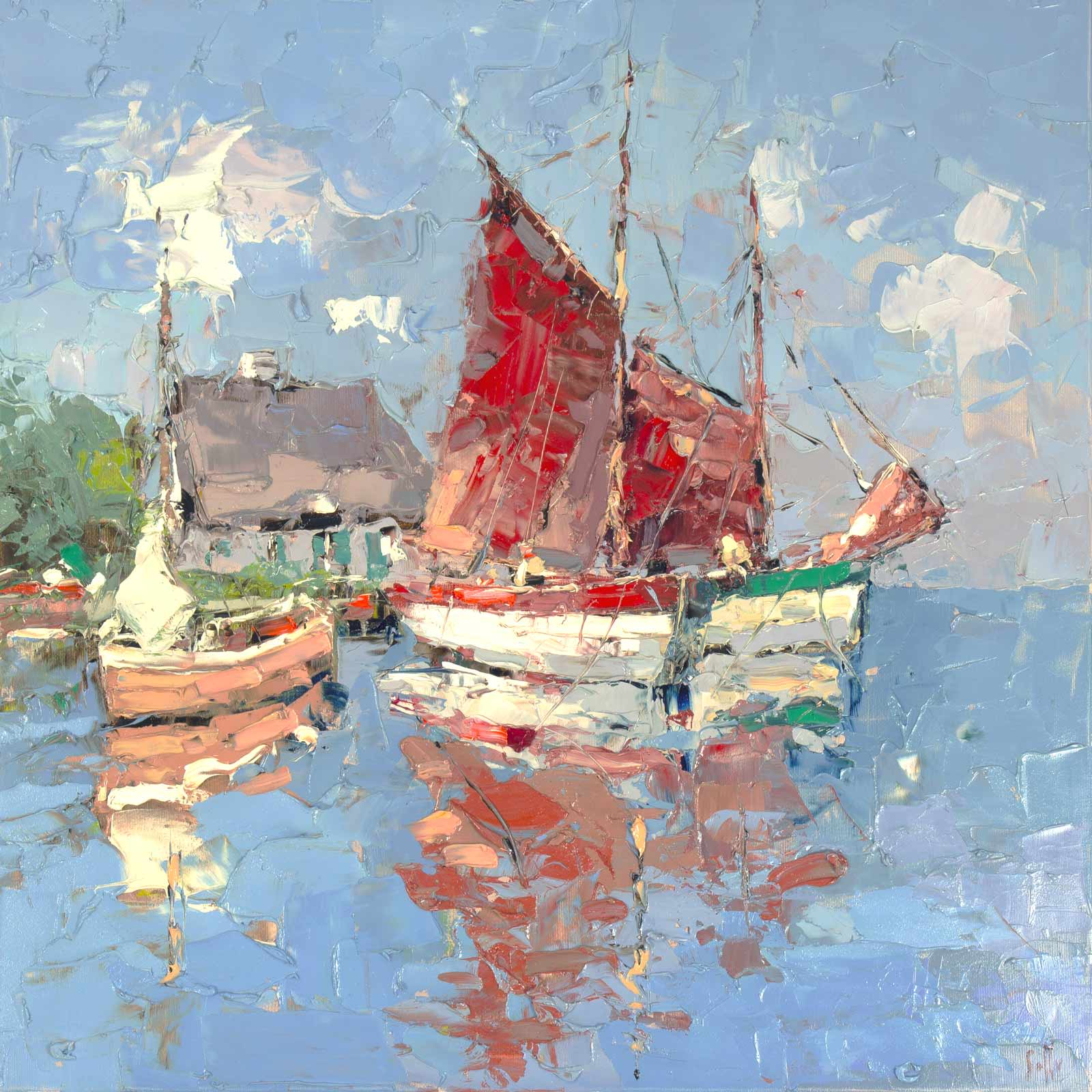 Harbour Sails, Frank Getty