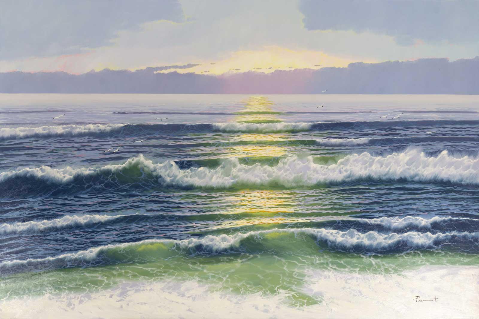 Gentle Sea Breeze, Joan Puerto