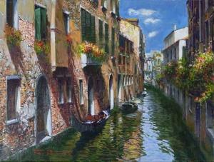 Ripples in Venice,