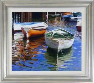 Moored Boats, Italy,