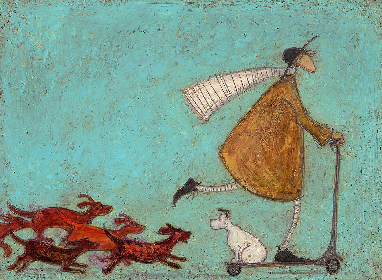 The Great Sausage Run, Sam Toft