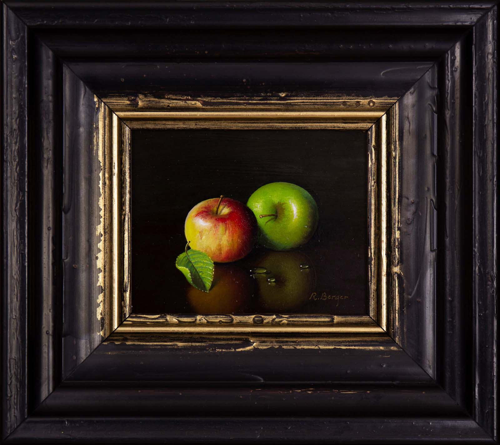 Pair of Apples, Ronald Berger