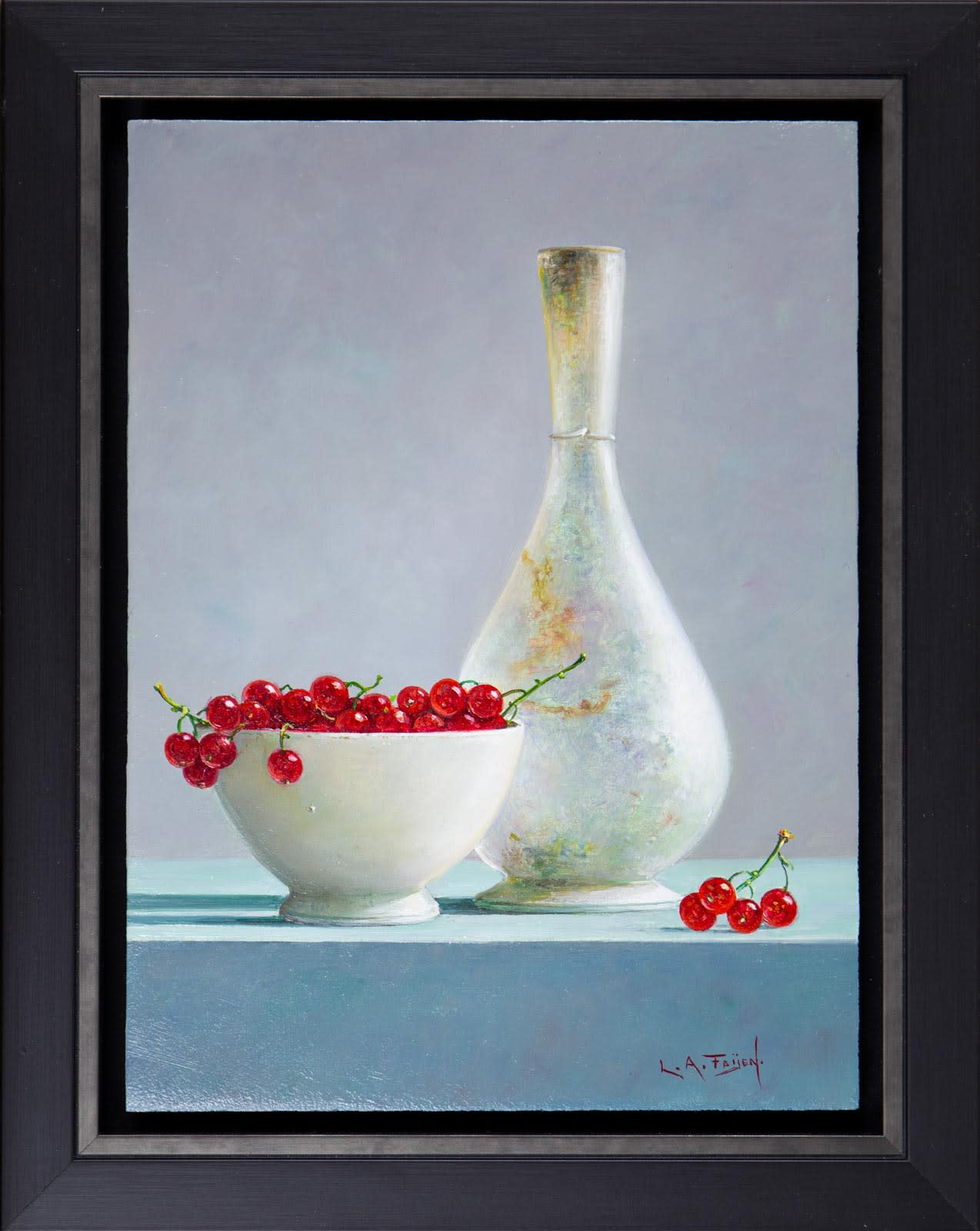 Redcurrants With Vase