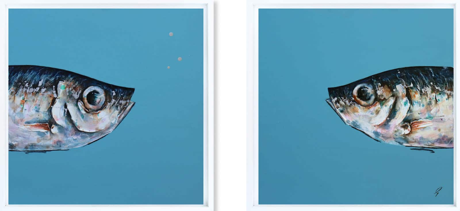 We Are The Same (Diptych), Giles Ward