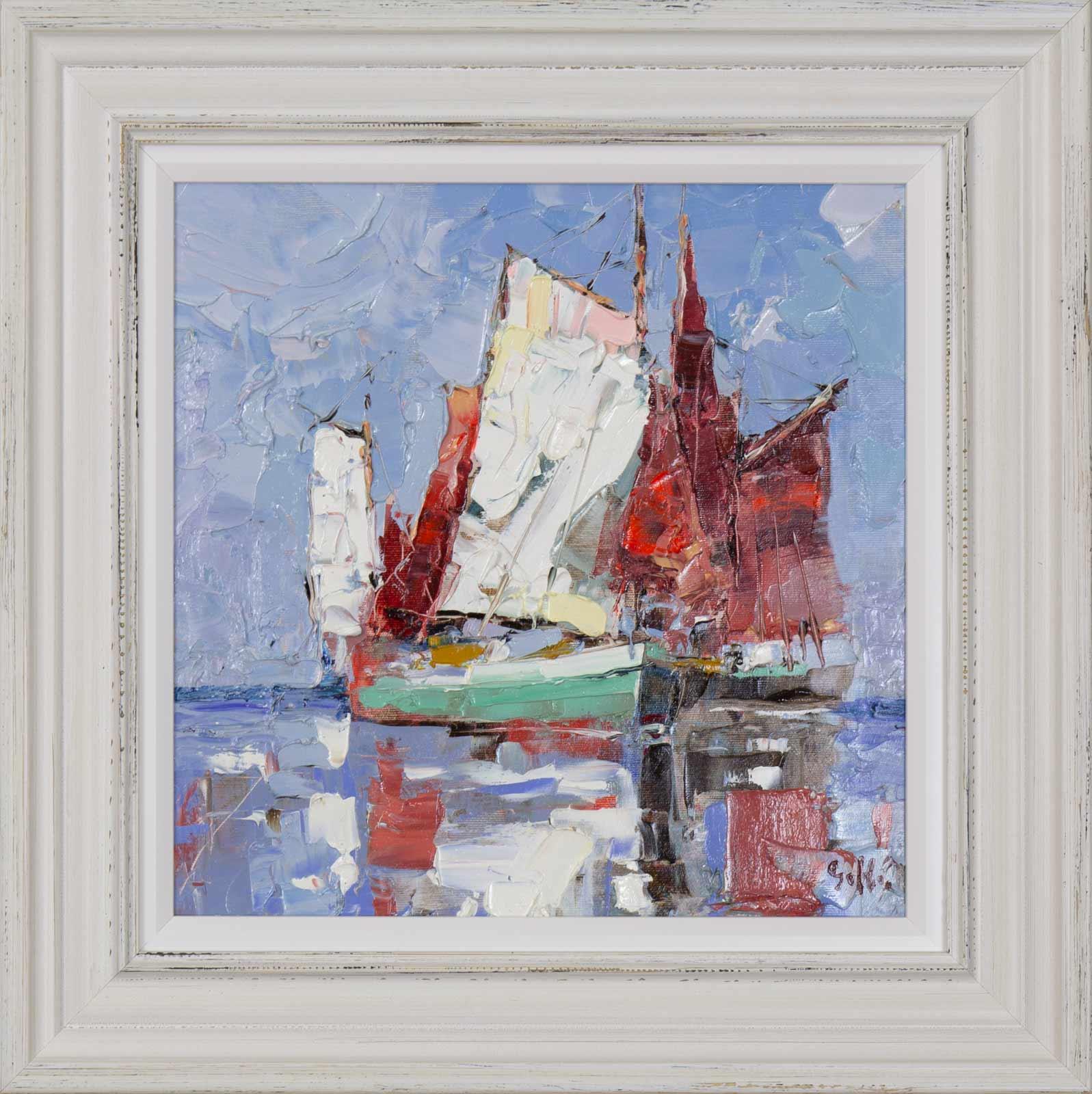 Sailing Study II, Frank Getty
