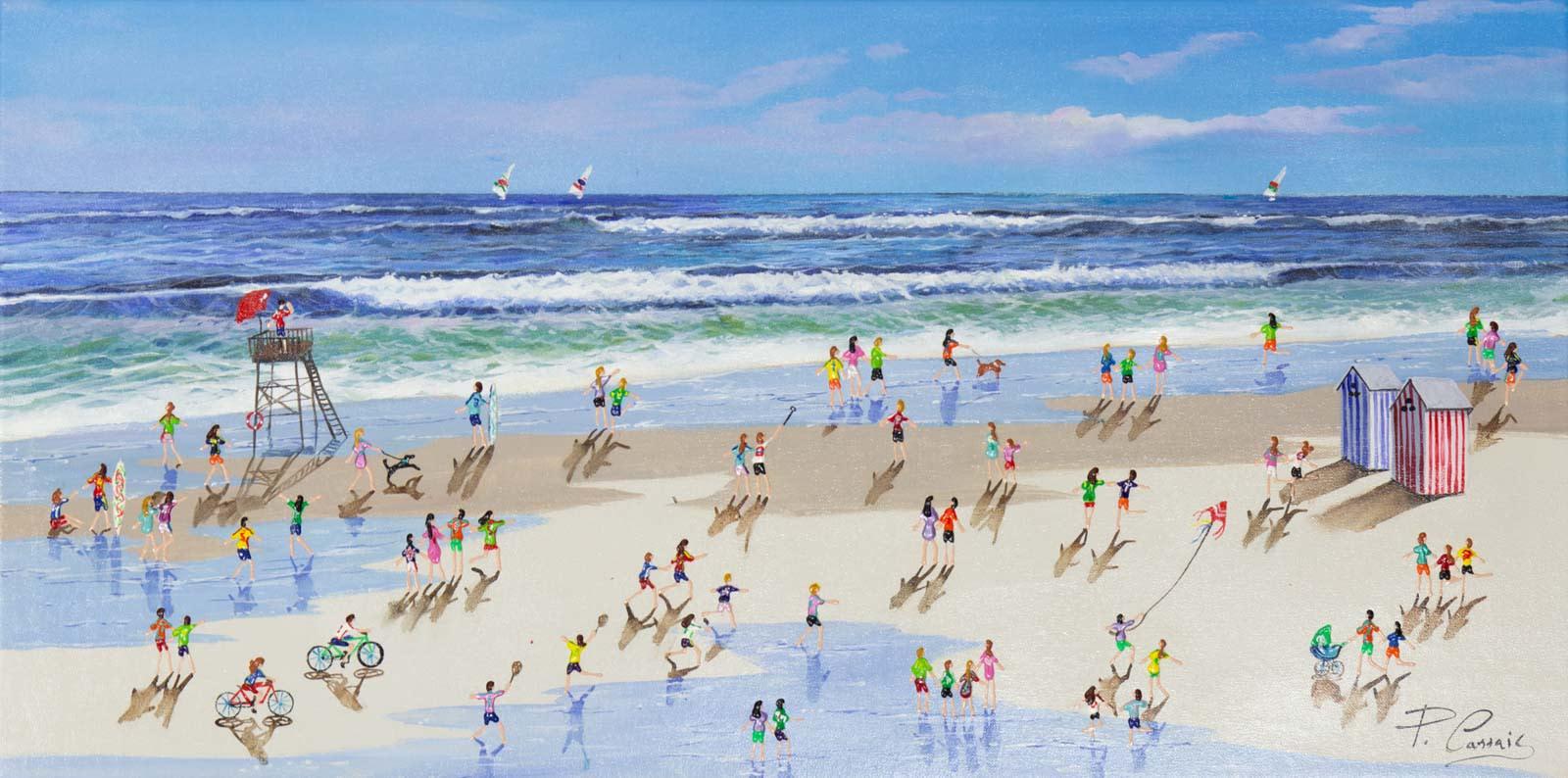 Summer on the Beach, Paola Cassais