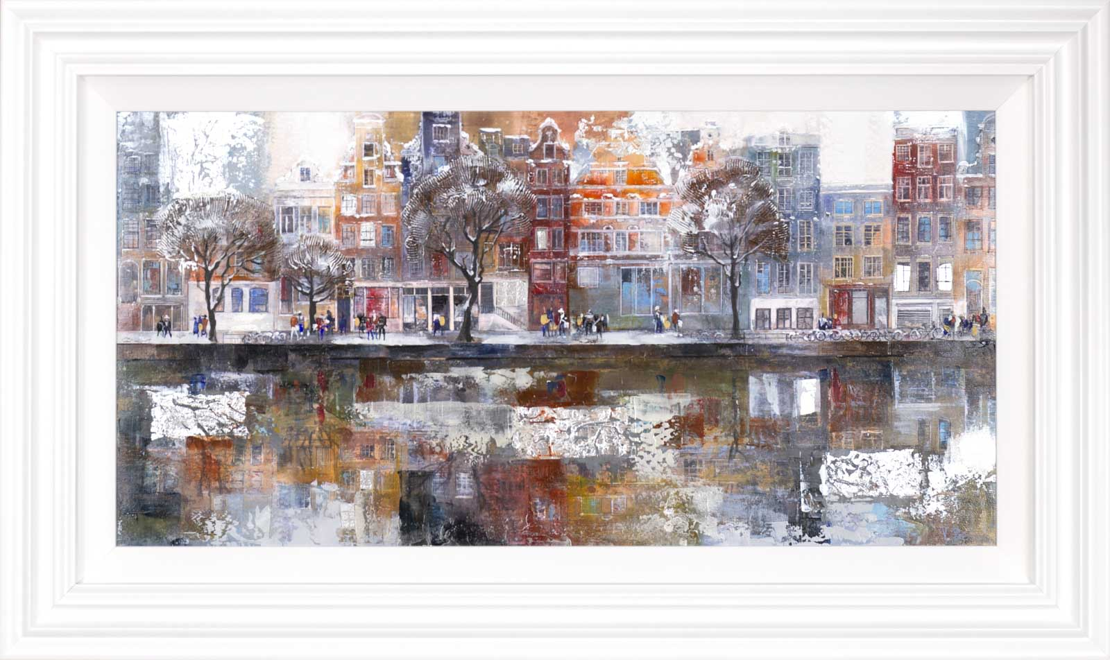 Winter Reflections, Amsterdam