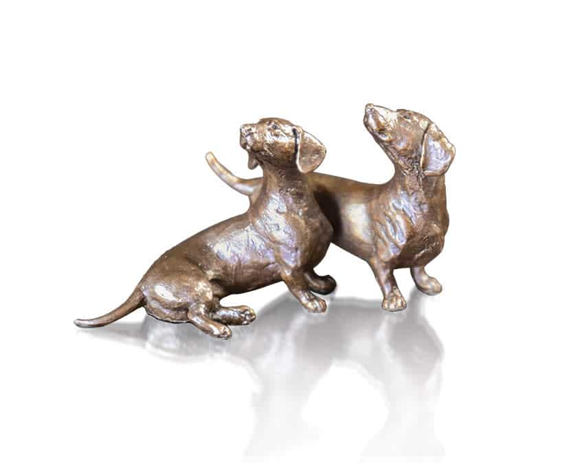 Dachshund Pair, Michael Simpson