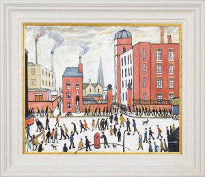 The Rush Hour after L.S.Lowry,