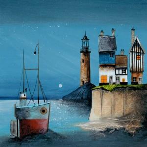Moonlit Harbour,