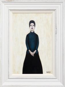 Full Portrait Of Ann (Blue),