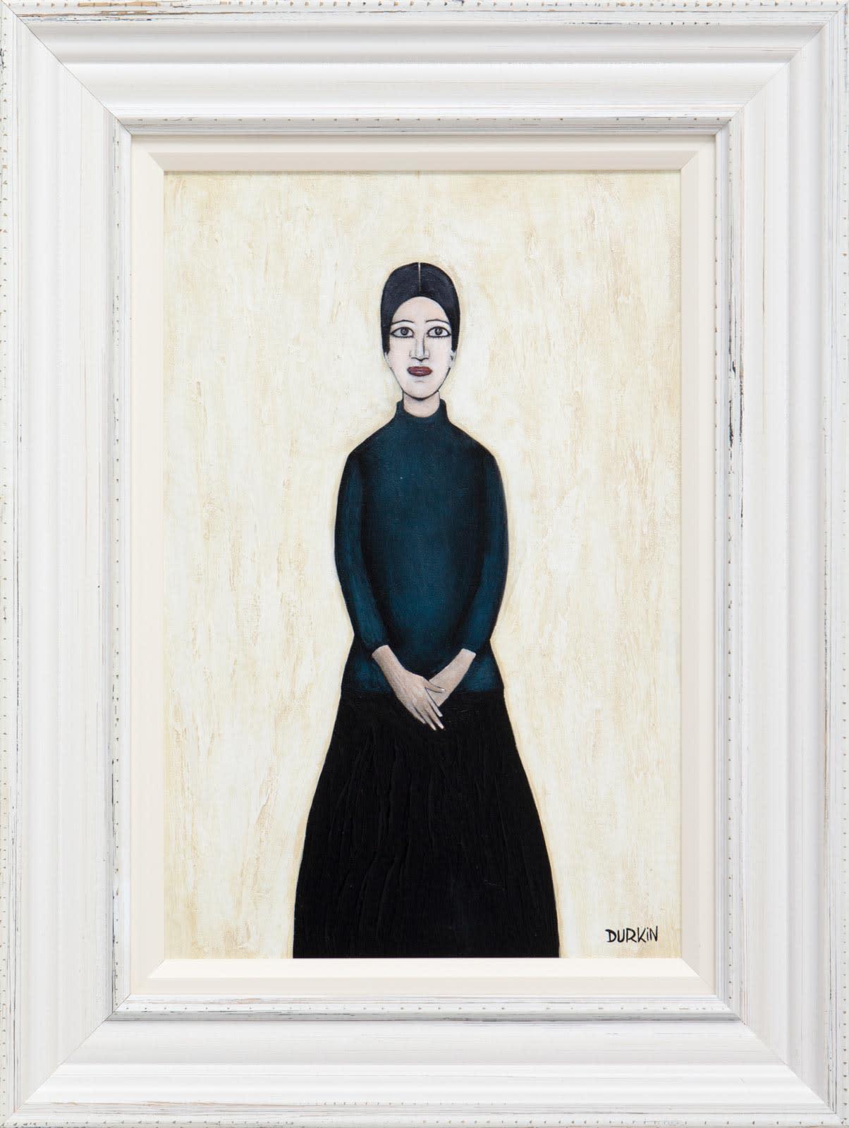 Full Portrait Of Ann (Blue)