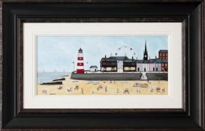 The Beach & The Lighthouse,
