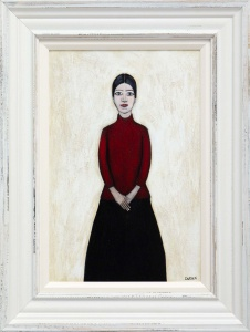 Full Portrait Of Ann (Red),