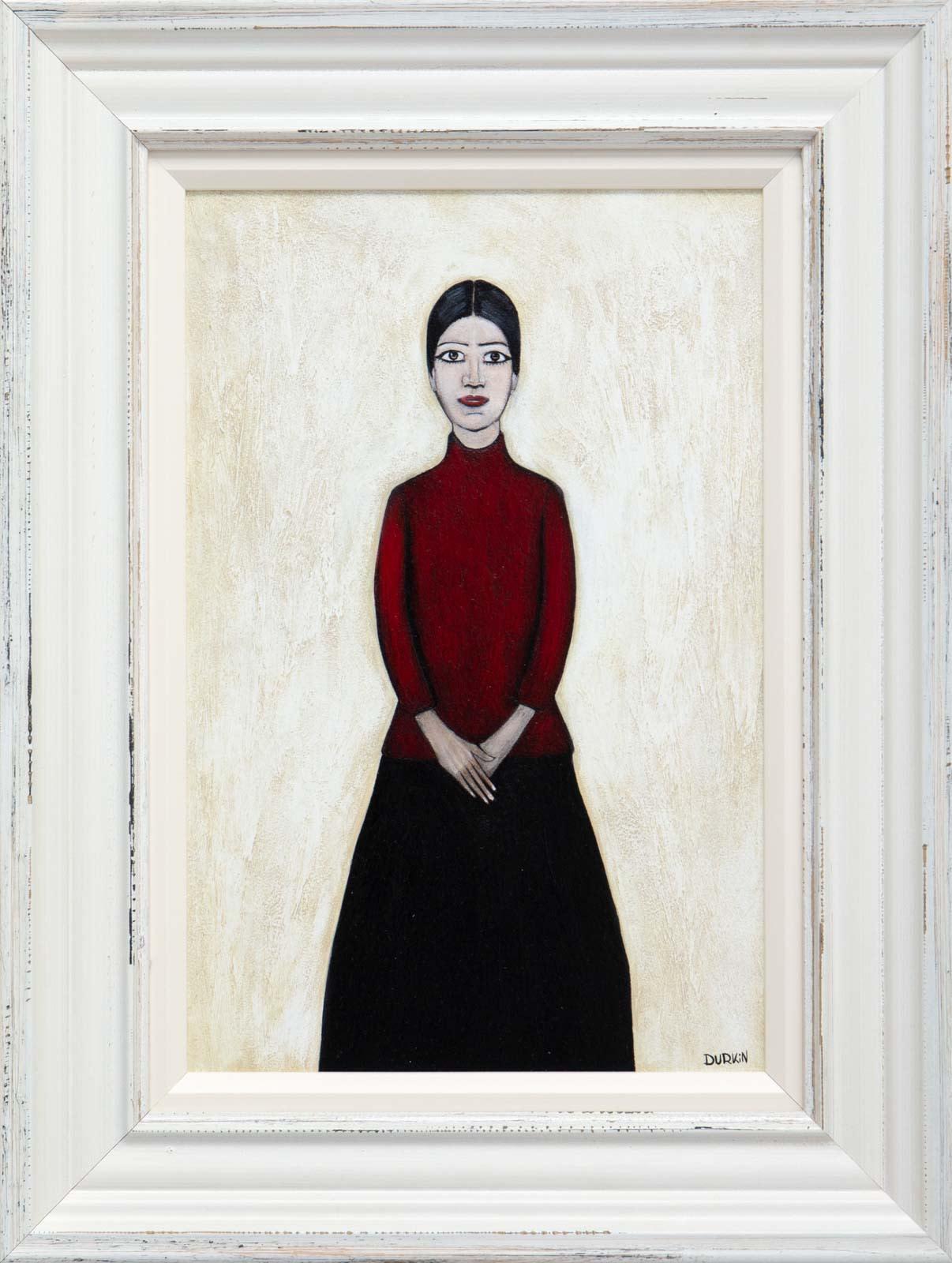Full Portrait Of Ann (Red)