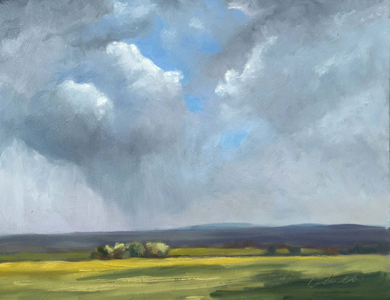Passing Showers, South Downs